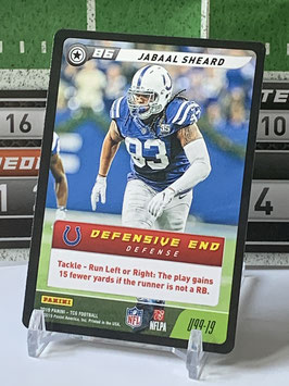 Jabaal Sheard (Colts) 2019 FIVE TCG #U99