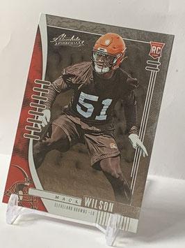 Mack Wilson (Browns) 2019 Absolute #152