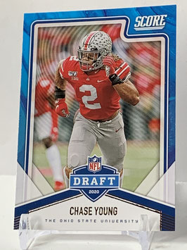 Chase Young (Ohio State/ Redskins) 2020 Score Draft #NFL-17