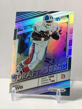 Terrell Davis (Broncos) 2016 Prizm Draft Gems Silver Prizm #20