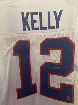 Jim Kelly (Bills) Replica Jersey mit Original-Autogramm