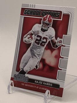 Najee Harris (Alabama/ Steelers) 2021 Contenders School Colors #25