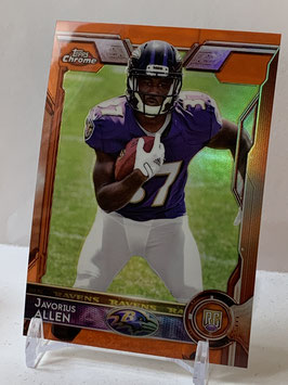 Javorius Allen (Ravens) 2015 Topps Chrome Orange Refractor #152