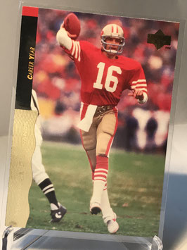 Joe Montana (49ers) 1995 Upper Deck Joe Montana Box Set #12