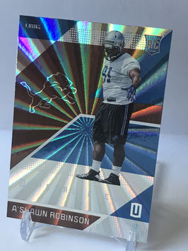 A'Shawn Robinson (Lions) 2016 Panini Unparalleled #153