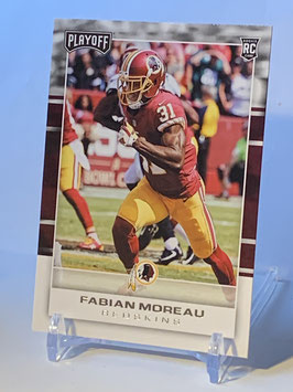 Fabian Moreau (Redskins) 2017 Playoff #281