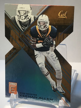 Keenan Allen (Cal/ Chargers) 2017 Panini Elite Draft Picks Status Orange Die-Cut #57