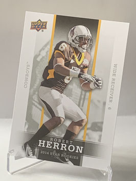 Robert Herron (Wyoming/ Buccaneers) 2014 Upper Deck Star Rookies #29