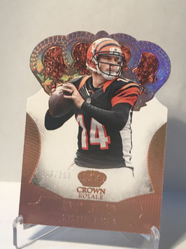 Andy Dalton (Bengals) 2013 Crown Royale Bronze #8