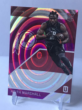 Keith Marshall (Redskins) 2016 Panini Unparalleled Purple #174