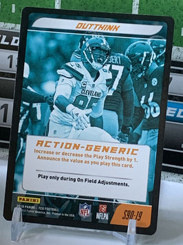 Action Generic: Myles Garrett (Browns) 2019 Panini Five TCG #S90