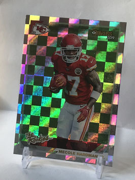 Mecole Hardman (Chiefs) 2019 Donruss The Rookies #TR-25