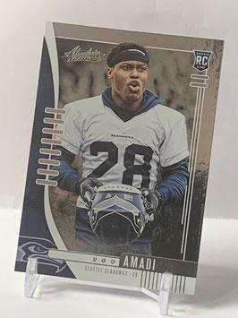 Ugo Amadi (Seahawks) 2019 Absolute #189