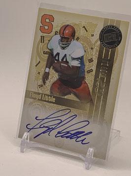 Floyd Little (Syracuse/ Broncos) 2008 Press Pass Legends Bowl Edition Top 25 Autograph #T25-FL