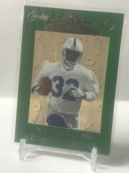 Edgerrin James (Colts) 1999 Playoff Absolute SSD Green Border #164