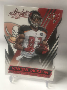 Vincent Jackson (Buccaneers) 2014 Absolute Retail Red #74