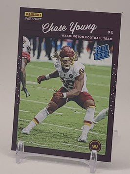 Chase Young (WFT) 2020 Panini Instant Rated Rookie #RR2