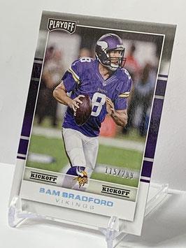 Sam Bradford (Vikings) 2017 Playoff Kickoff #51