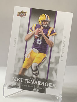 Zach Mettenberger (LSU/ Titans) 2014 Upper Deck Star Rookies #20