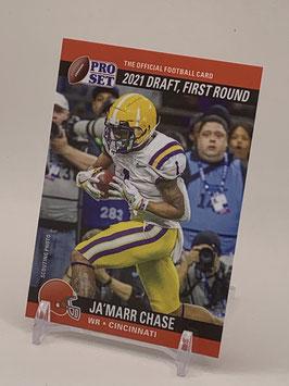 Ja'Marr Chase (LSU/ Bengals) 2021 Leaf Pro Set Draft Day #PSDD5