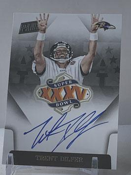 Trent Dilfer (Ravens) 2015 Panini Super Bowl XXXV Autograph #SBXXXV-TD