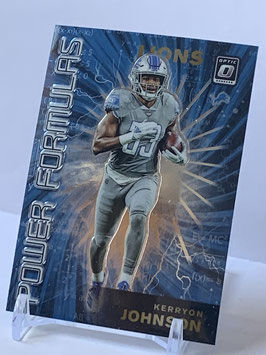 Kerryon Johnson (Lions) 2019 Donruss Optic Power Formulas #14
