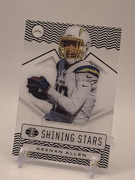 Keenan Allen (Chargers) 2020 Illusions Shining Stars #SS17