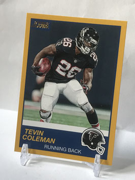 Tevin Coleman (Falcons) 2019 Score Gold #245