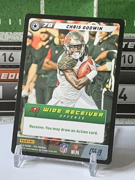Chris Godwin (Buccaneers) 2019 FIVE TCG C55