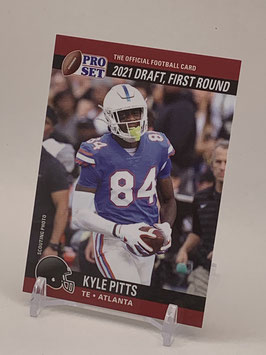 Kyle Pitts (Florida/ Falcons) 2021 Leaf Pro Set Draft Day #PSDD4