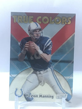 Peyton Manning (Colts) 1999 Stadium Club Chrome True Colors #SCCE16