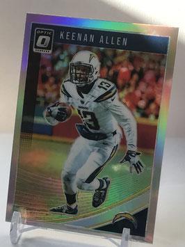 Keenan Allen (Chargers) 2018 Donruss Optic Holo #58