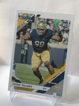 Jerry Tillery (Notre Dame/ Chargers) 2019 Donruss #262