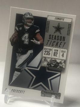 Dak Prescott (Cowboys) 2018 Contenders #72