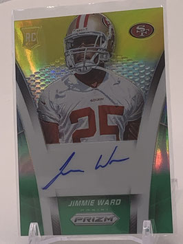 Jimmie Ward (49ers) 2014 Prizm Geen-Yellow Prizm #AR-CB