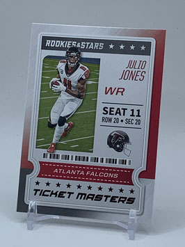 Julio Jones (Falcons) 2020 Rookies & Stars Ticket Masters #19
