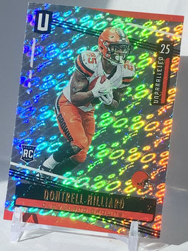 Dontrell Hilliard (Browns) 2019 Unparalleled FLIGHT #150
