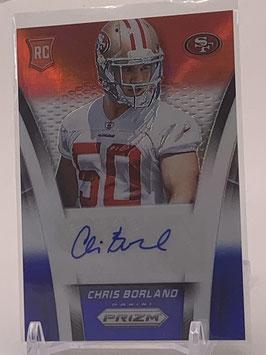 Chris Borland (49ers) 2014 Prizm Red White Blue Prizm #AR-CB