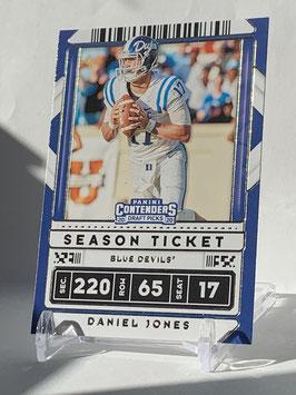 Daniel Jones (Duke/ Giants) 2020 Contenders Draft Picks #23