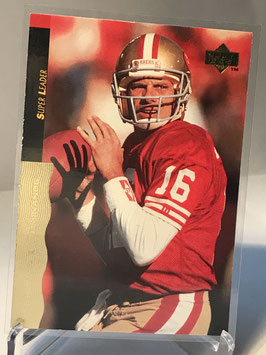 Joe Montana (49ers) 1995 Upper Deck Joe Montana Box Set #18