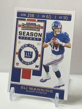 Eli Manning (Giants) 2019 Contenders #51