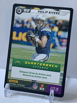 Philip Rivers (Chargers) 2019 FIVE TCG E172