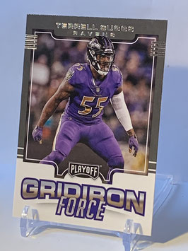 Terrell Suggs (Ravens) 2017 Playoff Gridiron Force #12