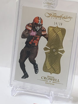 Isaiah Crowell (Browns) 2016 Flawless Diamond Gold #18