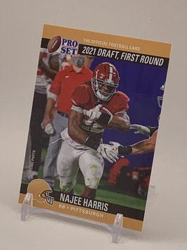 Najee Harris (Alabama/ Steelers) 2021 Leaf Pro Set Draft Day #PSDD10