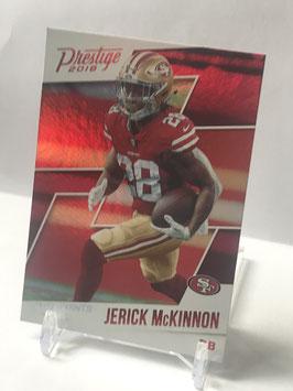 Jerick McKinnon (49ers) 2018 Prestige Xtra Points Red #101