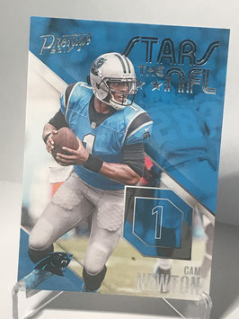 Cam Newton (Panthers) 2017 Panini Prestige Stars of the NFL #6