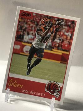 AJ Green (Bengals) 2019 Score #95