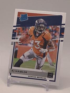 KJ Hamler (Broncos) 2020 Donruss Rated Rookie #320