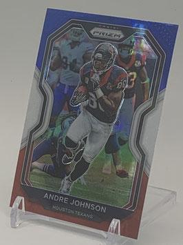 Andre Johnson (Texans) 2020 Prizm Red White Blue Prizm #82